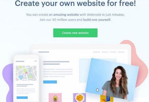 website gratis menggunakan webnode