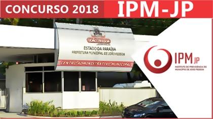 Concurso IPM João Pessoa 2018