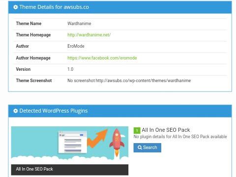 hasil informasi theme wordpress