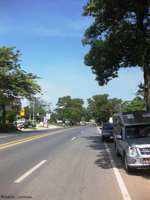 Main road in Khao Lak, as it looked like yesterday