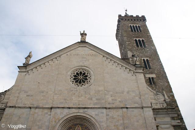 Facciata della Cattedrale di Sarzana