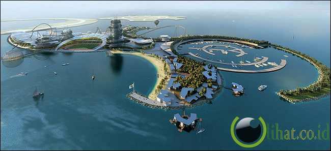 Pulau Real Madrid - Uni Emirat Arab