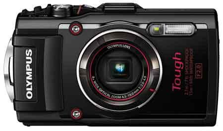 Olympus TG-4 Digitalkamera 16 Megapixel mit CMOS-Sensor und GPS