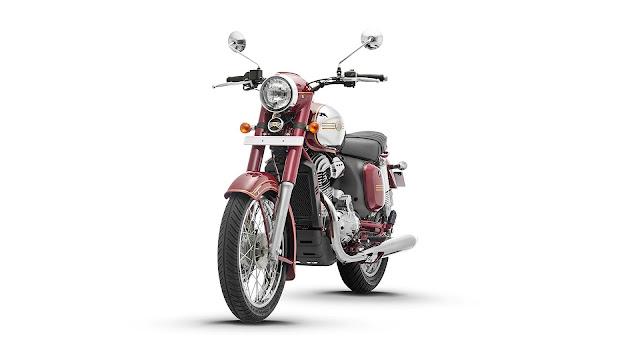 New 2019 Jawa 300 cruiser motorcycle