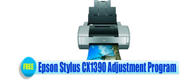Epson Stylus CX1390 Adjustment Program