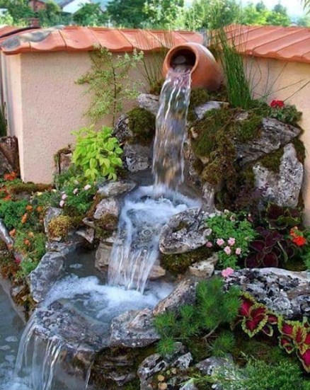 Backyard Ponds With Waterfalls in Your Garden