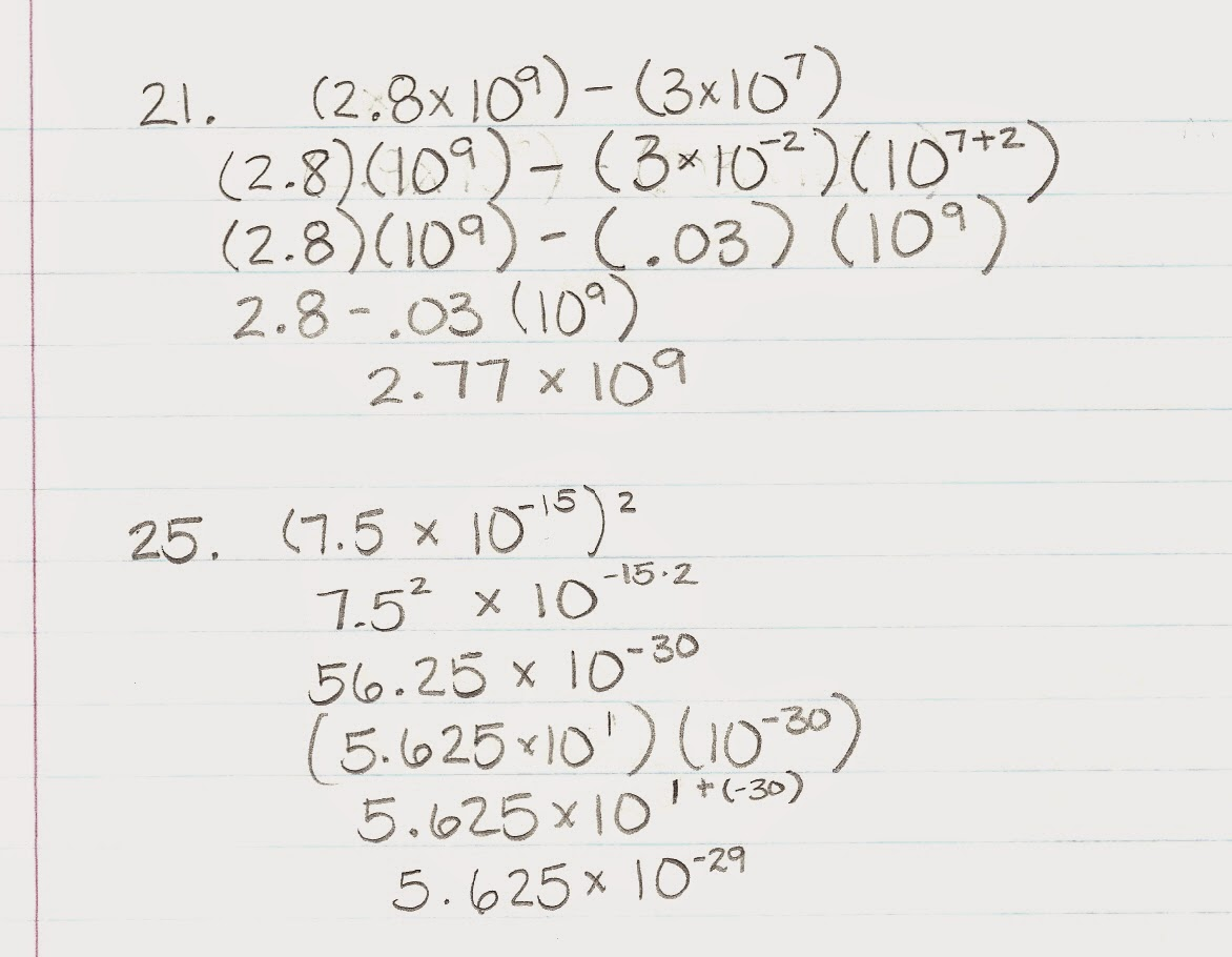 Algebra Alerts (Algebra 1 and 2): Algebra 1: 8.3 Teacher