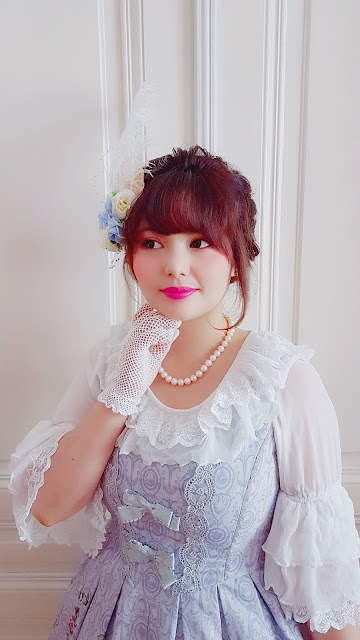 krad lanrete infanta bodyline handmade lolita fashion auris lothol soft jfashion