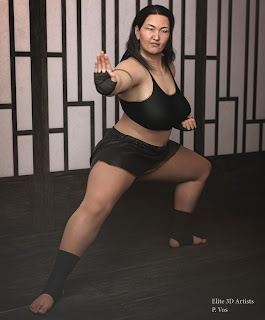 Elite 3D Models - Petra Vos - Chieko