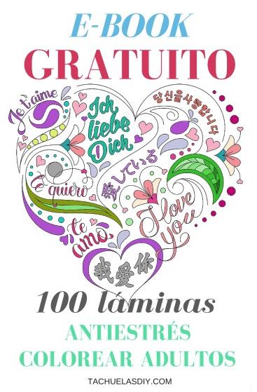 TACHUELAS DIY & CO: ARTETERAPIA: 100 láminas para colorear GRATIS ...