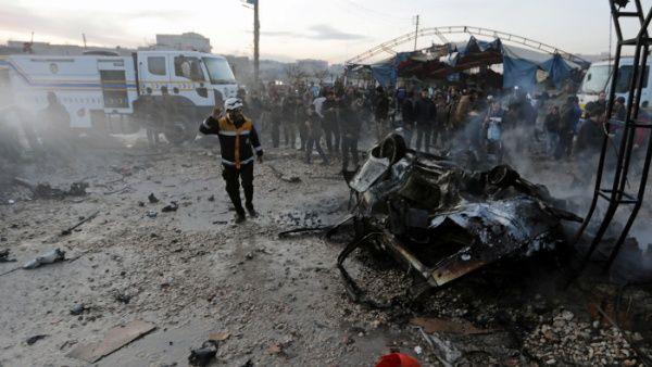 Turquía golpea objetivos en Siria tras incidente armado