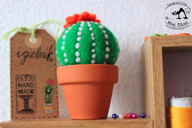 Filcowy Kaktus – Igielnik