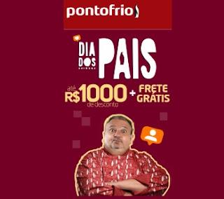 Promoções Ponto Frio Dia dos Pais 2020 Erick Jacquin Presentes - Presentón Top Pro Paisón