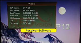 Redvision P12 Hd Receiver New Software 8 January 2021