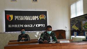 Korem 082/CPYJ Berkomitmen Tingkatkan Penanganan Pandemi