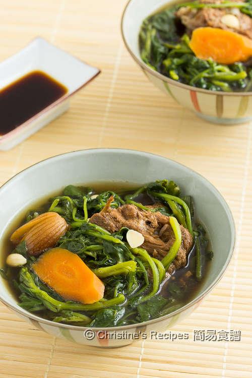 西洋菜羅漢果豬骨湯 Watercress and Monk Fruit Soup02