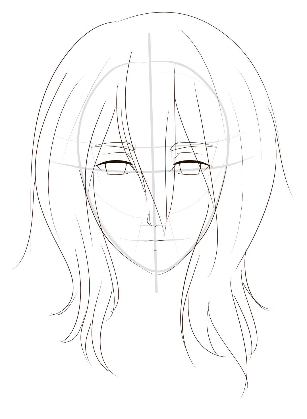 How To Draw Manga By Xtoi Drawing A Manga Head