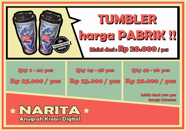 Tumbler Murah, Tumbler Promosi, Tumbler Custom, Tumbler Insert Paper, Jual Tumbler, Distributor Tumbler