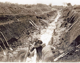 irish-peat cutting