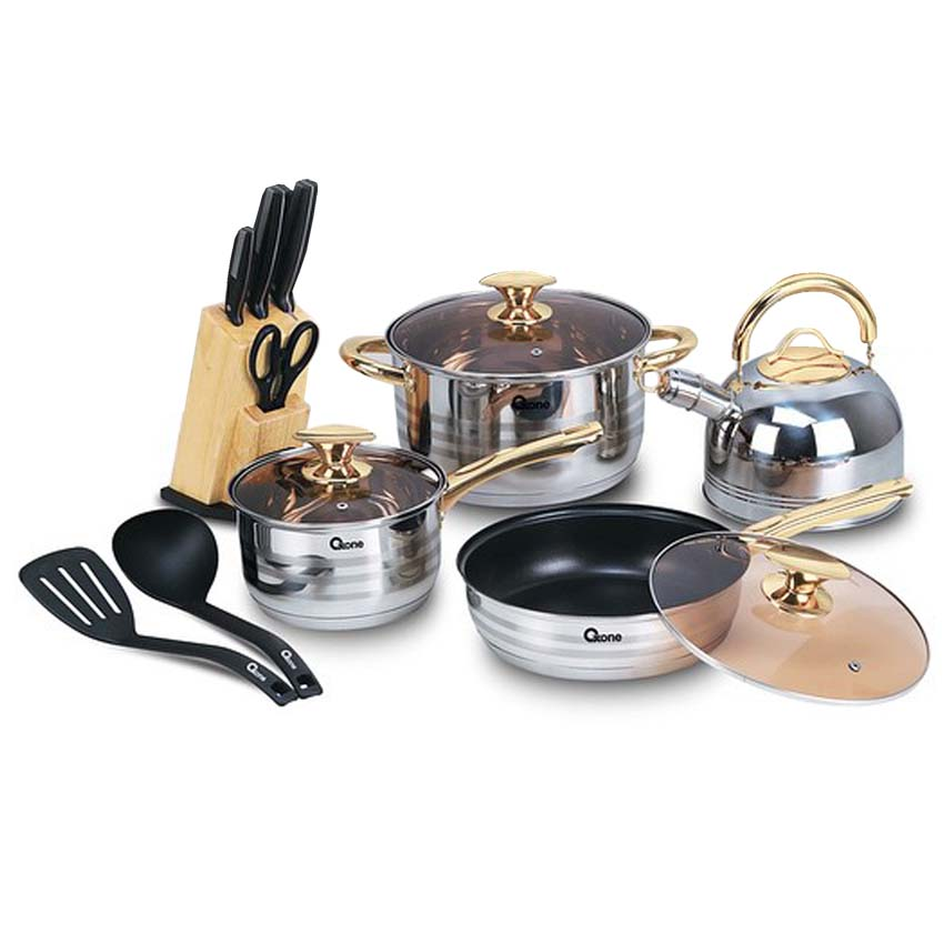 OX-777  | Rosegold Cookware Set Oxone