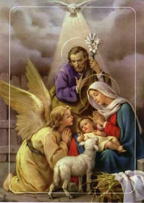 Resultado de imagen de ANGELES CON NIÑO DIOS Y VIRGEN
