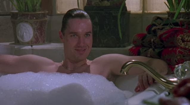 Terry Silver in tub