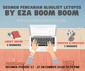 SEGMEN PENCARIAN BLOGLIST LETOPSS BY EZA BOOM BOOM