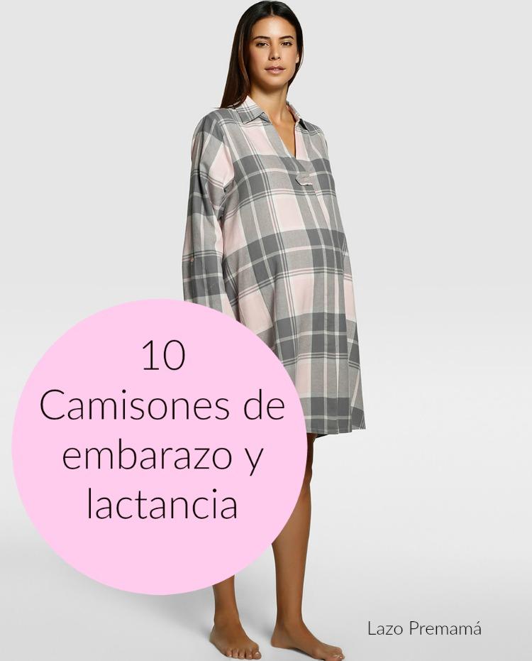 camison pijama embarazo lactancia