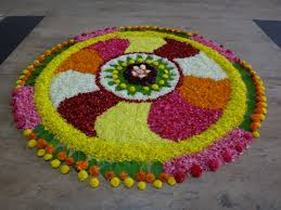 flower rangoli designs images