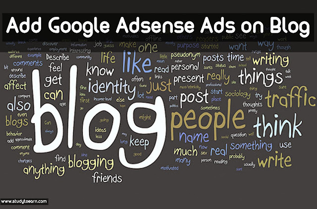 Add Google Adsense Ads on Blog