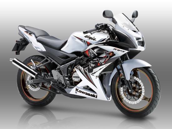 Gambar Motor Kawasaki Ninja 150 RR 2013 Terbaru