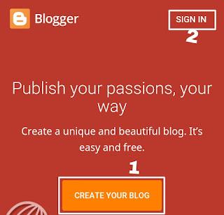 Blogger Platform Par Free Website (Blog) kaise banaye-