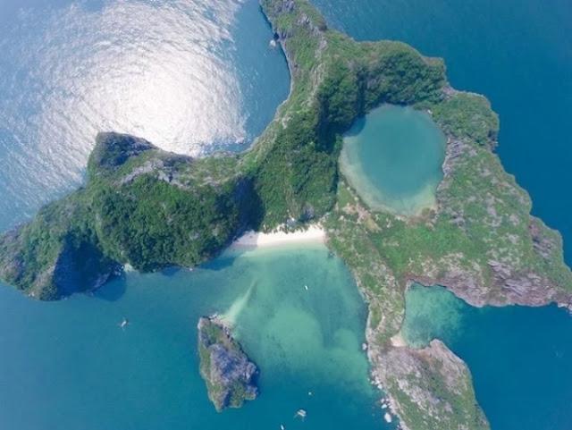 Kinh nghiệm du lịch đảo Mắt Rồng - hòn đảo tuyệt đẹp phía Nam Vịnh Hạ Long