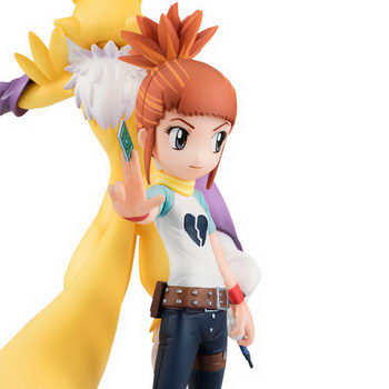 Digimon Tamers – Renamon & Rika Nonaka [Exclusiva]