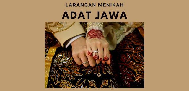 Bulan Yang Harus Dihindari Untuk Pernikahan Menurut Adat Jawa