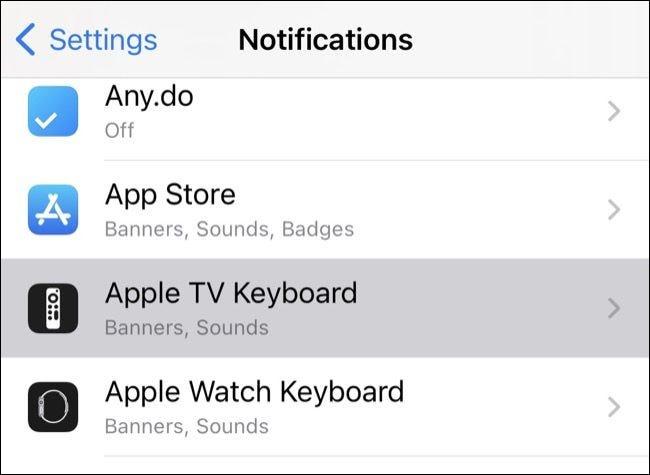 إخطارات iPhone
