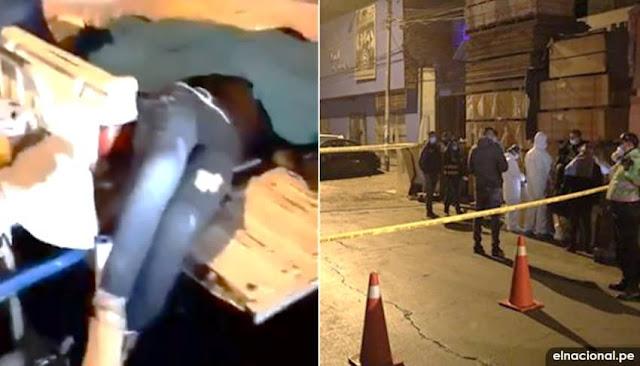 13 personas muertas dejó intervención policial en discoteca los Olivos - VIDEOS