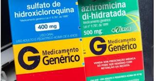 Hidroxicloroquina e Azitromicina para pacientes com coronavírus