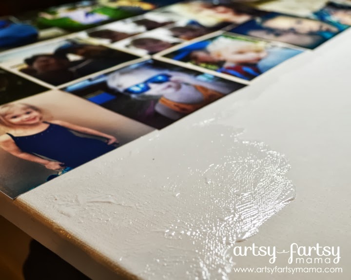 DIY Instagram Photo Canvas at artsyfartsymama.com #cbias #WalgreensApp