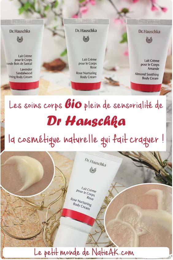 avis sur les soins corps Dr Hauschka