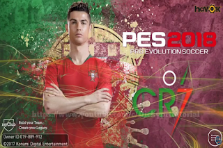 Download PES 2018 Mobile V2.3.3 Mod C. Ronaldo Apk Android