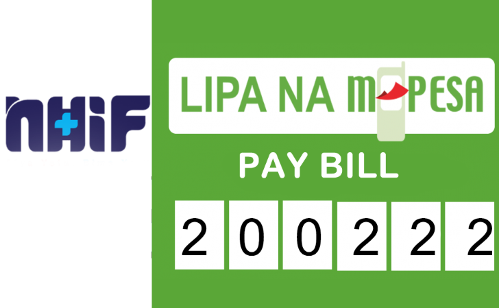 NHIF Business Number or Pay Bill Number