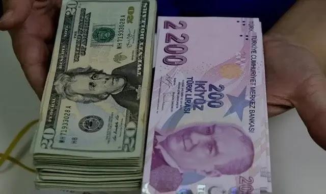 سعر صرف الليرة التركية أمام العملات اليوم الأثنين 21/12/2020