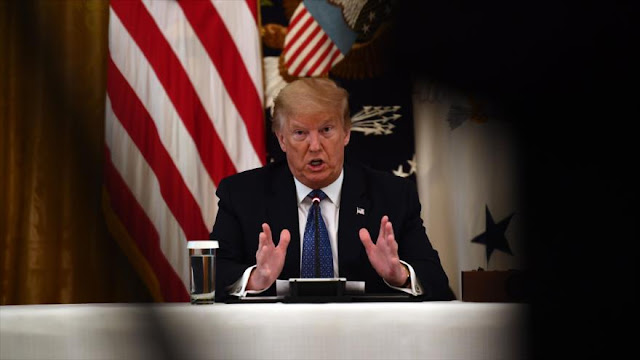 "Trump culpa a China de provocar ""una matanza mundial"" por COVID-19"