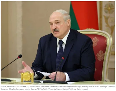 Lukashenko was suddenly sworn in' as President of Belarus