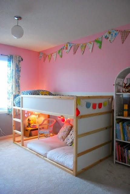 Tilam Bahagian Bawah Pun Dekat Dengan Lantai Dan Konsep Montessori Tu Dapat Kalkan Katil Ikea Ni Memberikan Fleksibiliti Kalau Ada