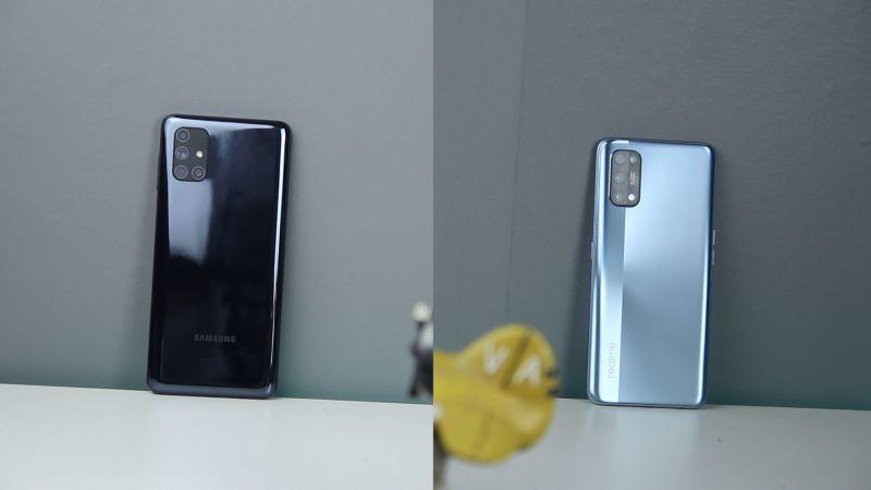 Komparasi Samsung Galaxy M51 dengan Realme 7 Pro