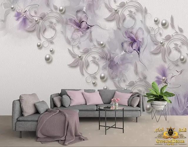 أنواع ورق الجدران 2022