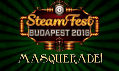 Steamfest Masquerade is a Steampunk Masquerade Ball that takes place in Budapest, Hungary in October 2016.