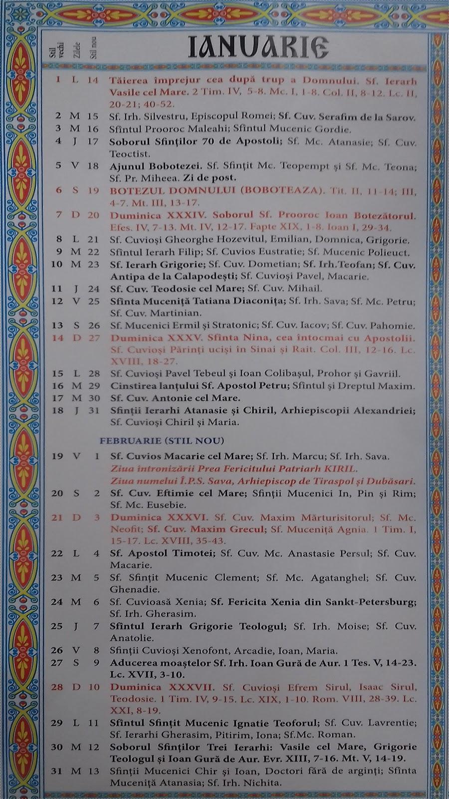 Calendar Crestin Ortodox 2022.Calendar Ortodox 2021 2022 Moldova Calendar Crestin Ortodox 2019 Stil Vechi Republica Moldova